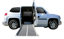 3-6 Passenger Wheelchair Van Rental