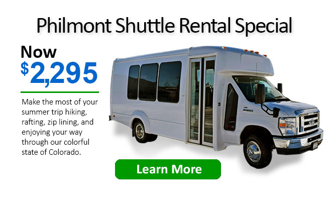 Philmont Shuttle Discount